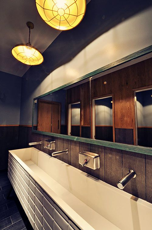 134 Best Images About Restaurant Bathrooms On Pinterest | Toilets