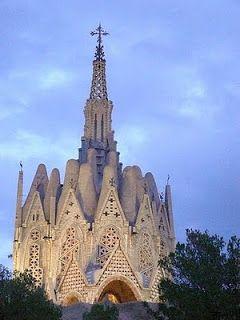 Santuario de la Virgen de Montserrat  Montferri  by  Jujol (discipulo de Gaudí)