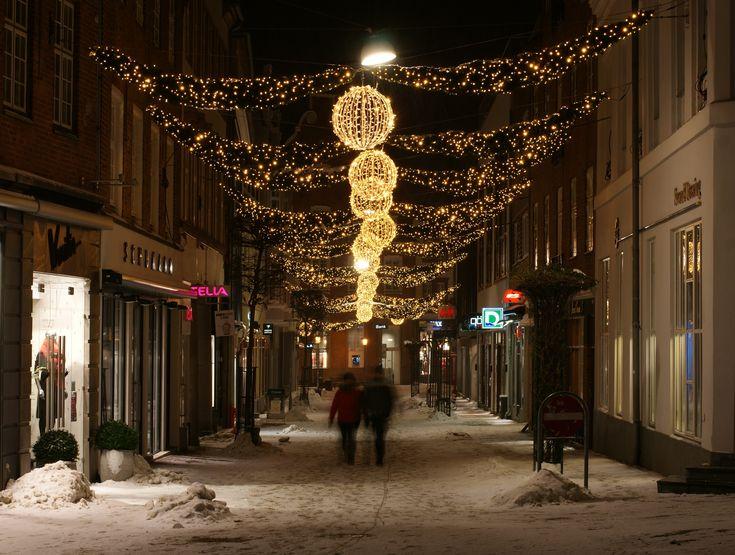 Viborg Christmas street illumination 2010-11