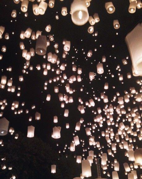 Yi Peng Lantern Festival //Chiang Mai, Thailand