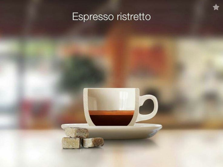 #Coffee #Café Ristretto