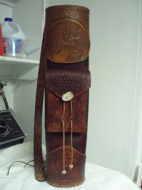 sewing pattern for a quiver | To be free a man must have three things: land, education, and a rifle ...