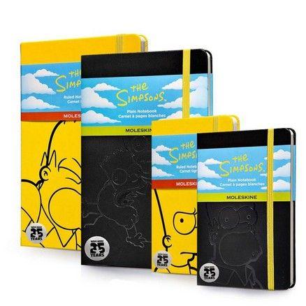 Simpsons Moleskine notebooks