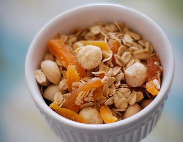 Macadamia and Coconut Granola