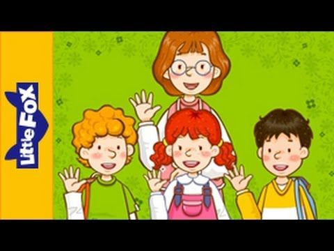 Goodbye! - Learn English for Kids Song by Little Fox
