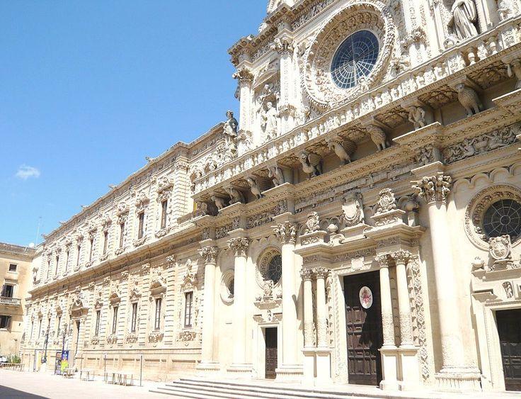 Basilica di Santa Croce e Celestini Lecce - Basilica di Santa Croce (Lecce) - Wikipedia