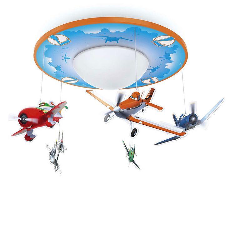 Philips Disney LED Taklampe Fly - Denne magiske, mobile Fly-hengelampen fra Philips og Disney gjør at barnet kan gjenoppleve den morsomme filmen i taket på soverommet. Favorittfigurene flyr rundt et varmt, hvitt LED-lys og gjør leggetiden mer fargerik og lystbetont.