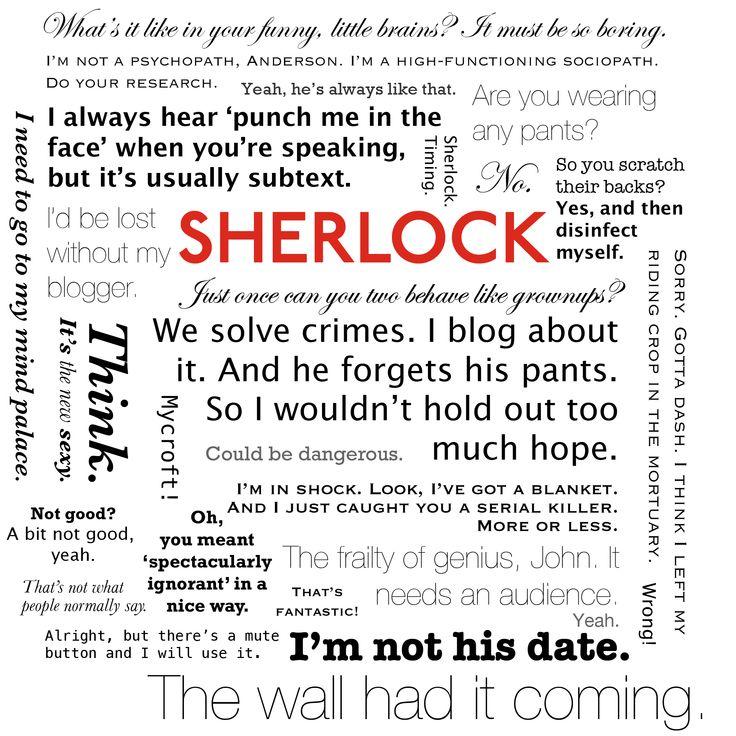 Sherlock quotesSherlock Bbc, 221B Bakers, Sherlockbbc, Sherlock Holmes Bbc Quotes, Sherred Locks, Sherlock Quotes, Bbcsherlock, Bbc Sherlock, Bbcs Sherlock