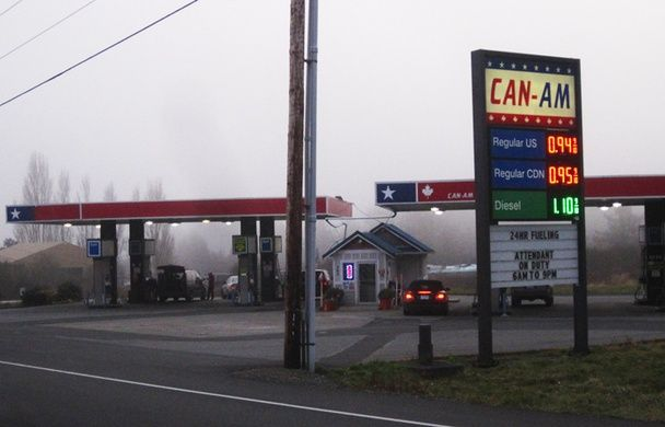 The Odd Existence of Point Roberts, Washington