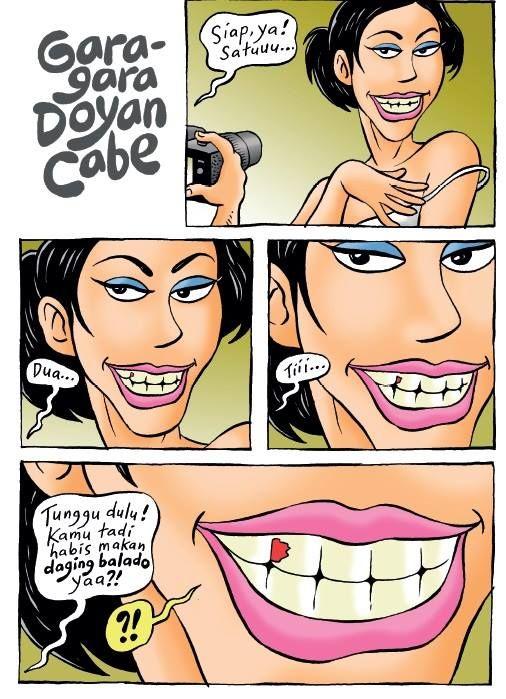 Kartun Benny, 100 Peristiwa: Gara-gara Doyan Cabe