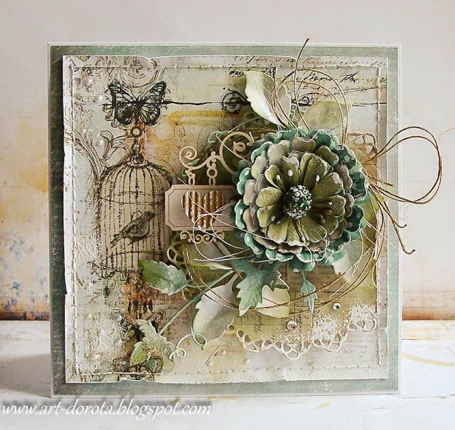 Dorota_mk: A new day - a new card :)