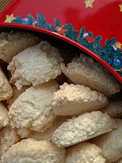 ComidaDeMama: Biscotti di Natale tedeschi [2]. Schaumkronen.