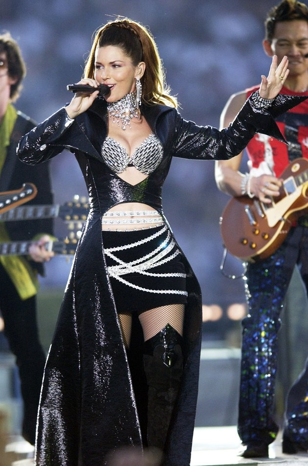 shania twain without clothing