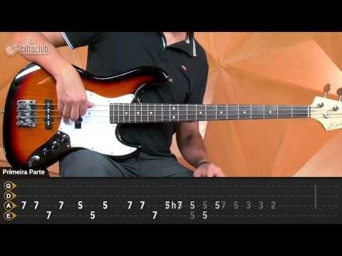 Cocaine - Eric Clapton (aula de contrabaixo) - YouTube