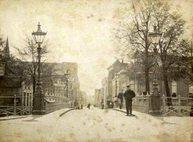 Kleiwegbrug rond 1890