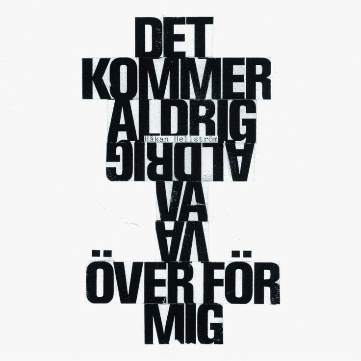 Håkan Hellström – Det kommer aldrig va över för mig (Official Video) | POPDROMMEN.SE | SVERIGES POPPIGASTE MUSIKBLOGG | NIKLAS TORSELL |