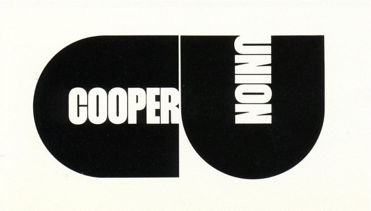 Cooper Union logo by Herb #Lubalin.  @uniteditions  via @wayneford