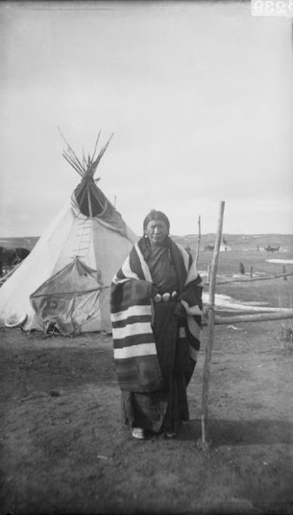 Lean Woman (wife of Red Cloud) - Oglala - 1892