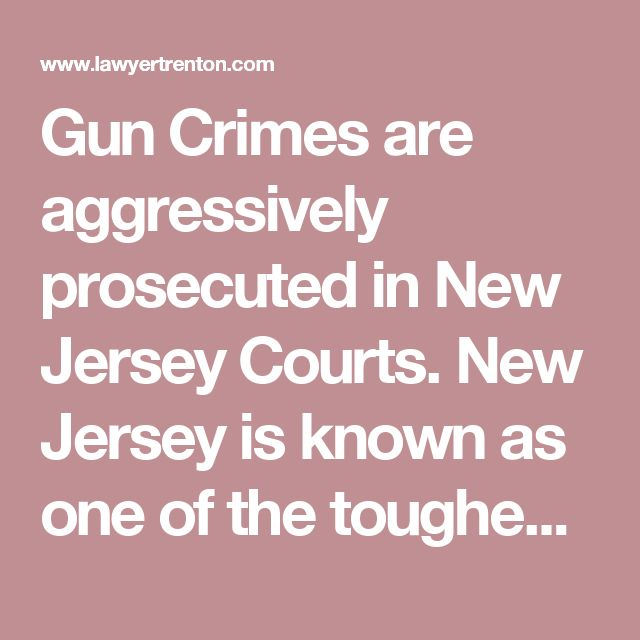 Gun Crimes are aggressively prosecuted in New Jersey Courts. New Jersey is known as one of the toughest states to be prosecuted for a gun related offense. Penalties for gun crimes in New Jersey can range from two years in jail to more than ten years. The type of sentence you serve in New Jersey is dependent upon the type and the manner in which a gun is used or possessed. For example, mere possession of a concealed handgun without a license can lead to state imprisonment. However, if the…
