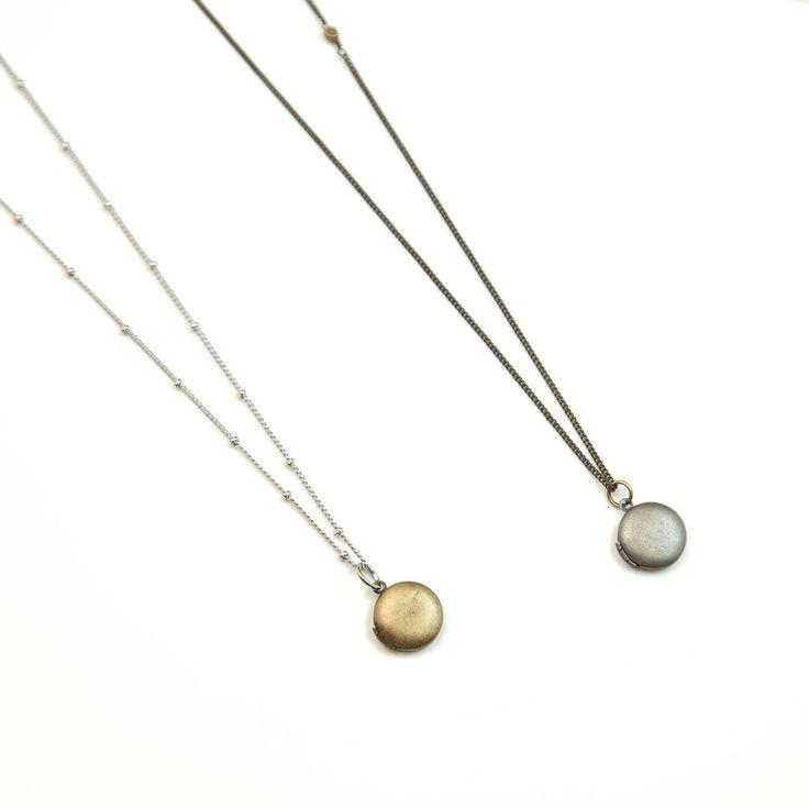 TINY ROUND LOCKET Necklace // Simple Locket Necklace // Antique Long Necklace // Small Locket Necklace // Long necklace // Bohemian Fringe by BohemianJewelryShop on Etsy https://www.etsy.com/ca/listing/160478339/tiny-round-locket-necklace-simple-locket