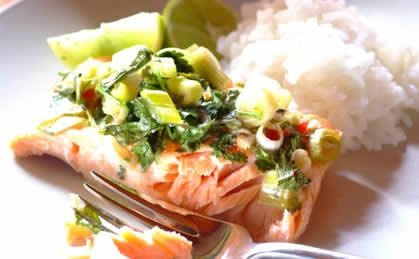 Lime & Sweet Chilli Fish Parcels