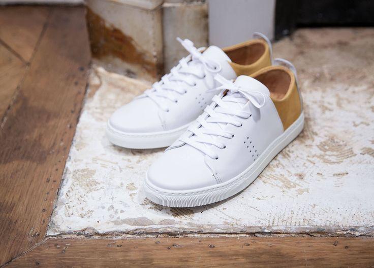 Sneaker En Cuir Moelleux Herren Footware Australian 1DGQMlo