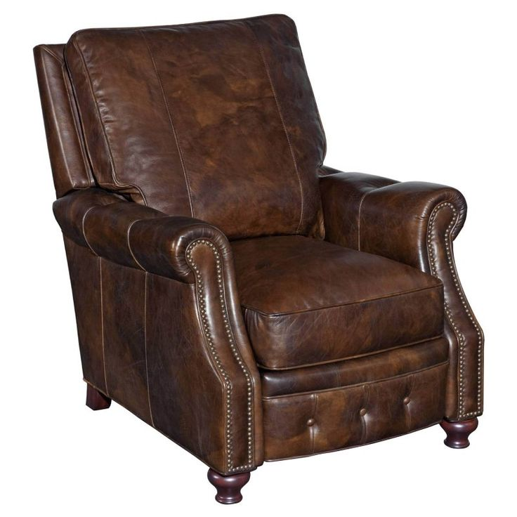 Hooker Furniture Old Saddle Recliner                                                                                                                                                                                 More