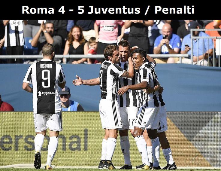 Juve Tutup ICC Dengan Kemenangan (Roma 4 - 5 Juventus / Penalti)