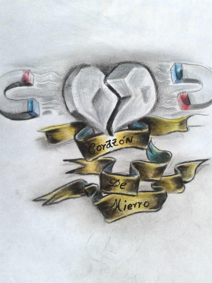 corazones en imanes