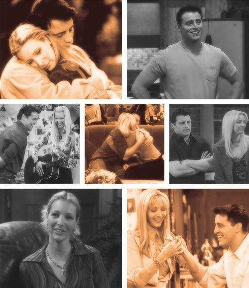 Phoebe & Joey should have married, but I'll take them as best friends