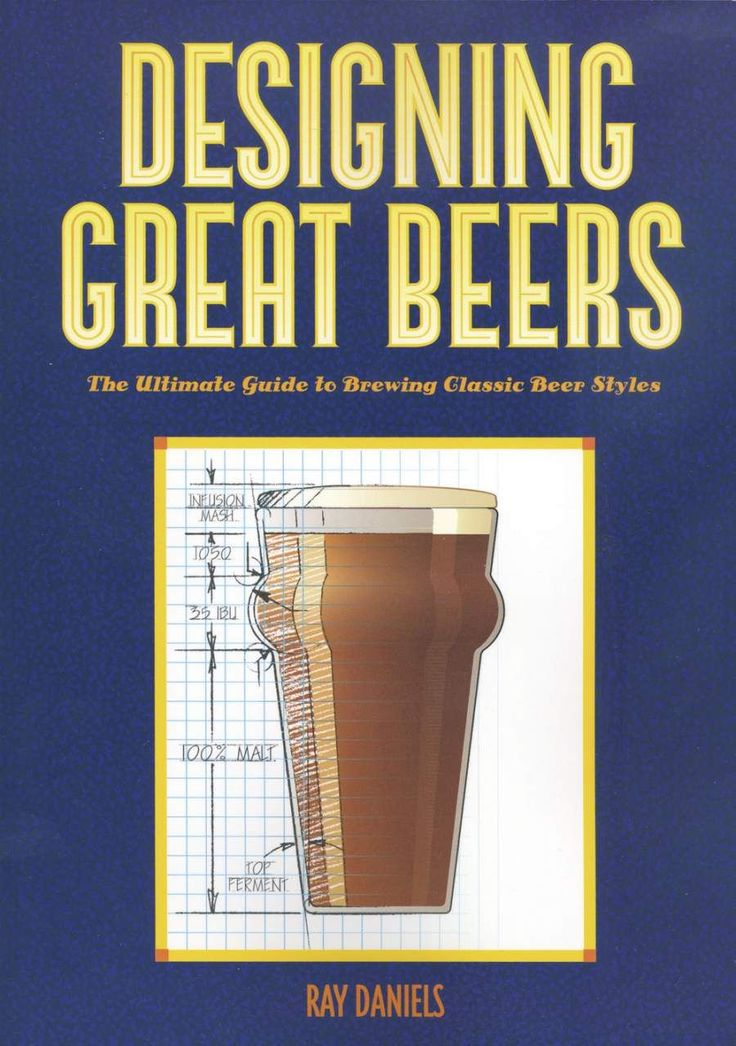'Designing great beers' Ray Daniels This English language book contains 2 parts that will show you the way to designing your own recipes. Part one discusses what various ingredients can do for you and gives you the tools to help you achieve your brewing goals. Part 2 examines specific beer styles to help you understand how they are defined and what special ingredients or techniques must be used to brew a representative example.