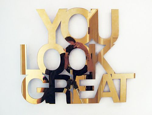 You look great! #inspiration #selflove #gold