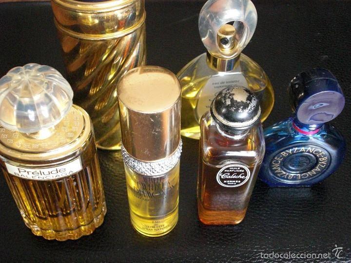 Lote de 6 perfumes vintage (no son miniaturas). Caleche, Prelude, Byzance, First, Jaipur.. - Foto 1