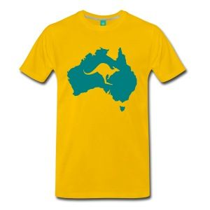Australia with kangaroo Shirt