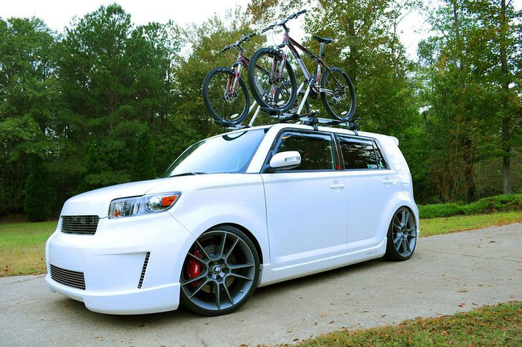 Scion XB slammed!