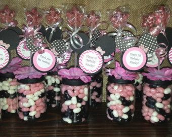 Minnie Mouse Baby Food Jar cotillons