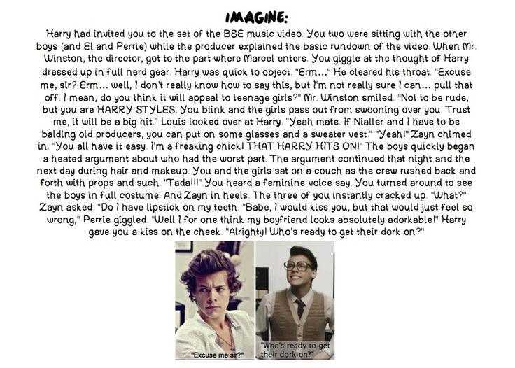 Haha... cuz EVERYBODY loves Marcel Styles :) One Direction Imagine :)