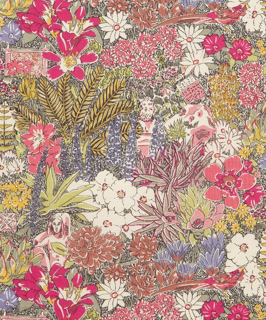 liberty fabric || abbey gardens