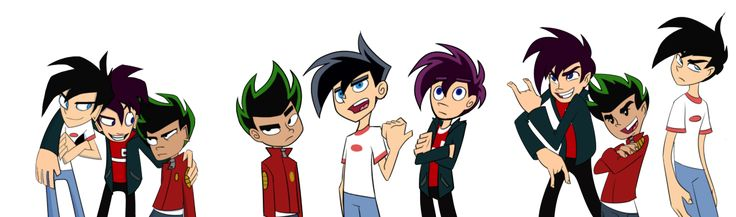 Secret Styles (Danny Phantom, Randy Cunningham and Jake Long in their own style) by ~Spectral-Ninja on deviantART