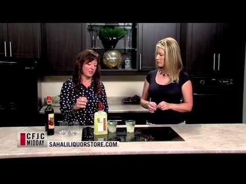Linda shared big girl lemonade with Susan on the Midday Show!