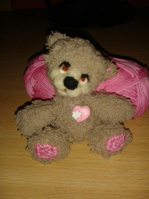 Amigurumi bear Handmade Crochet Mywork