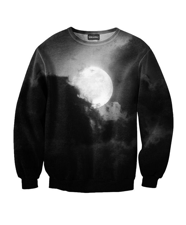 Moon sweatshirt from HonkaHonka