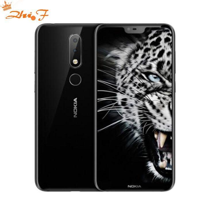 Nokia X6 2018 Android Dual Sim Lte Fingerprint 5 8 Smartphone Gps Smartphones Fitnesstrackers Coolwatches Smartwatch F Dual Sim Android One Mobile Phone