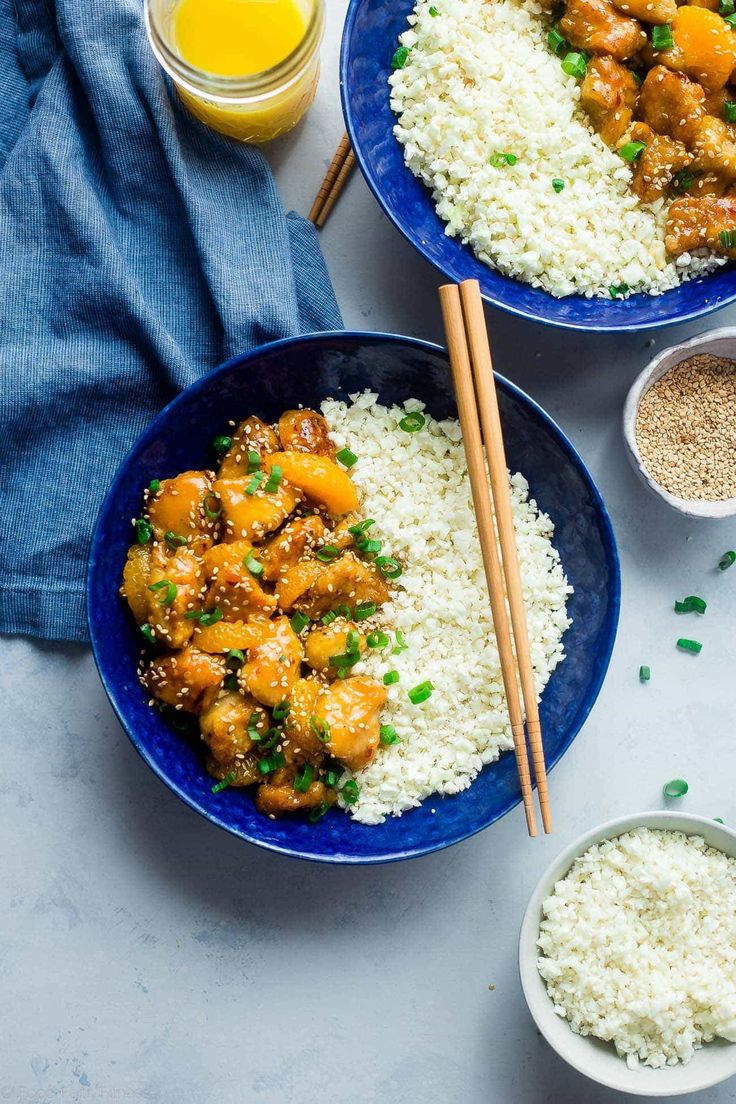 Whole30 Orange Chicken - This 30 minute, paleo orange chicken is so much better and healthier than takeout! It's a quick and easy, whole30 compliant dinner that the whole family will love! | Foodfaithfitness.com | @FoodFaithFit