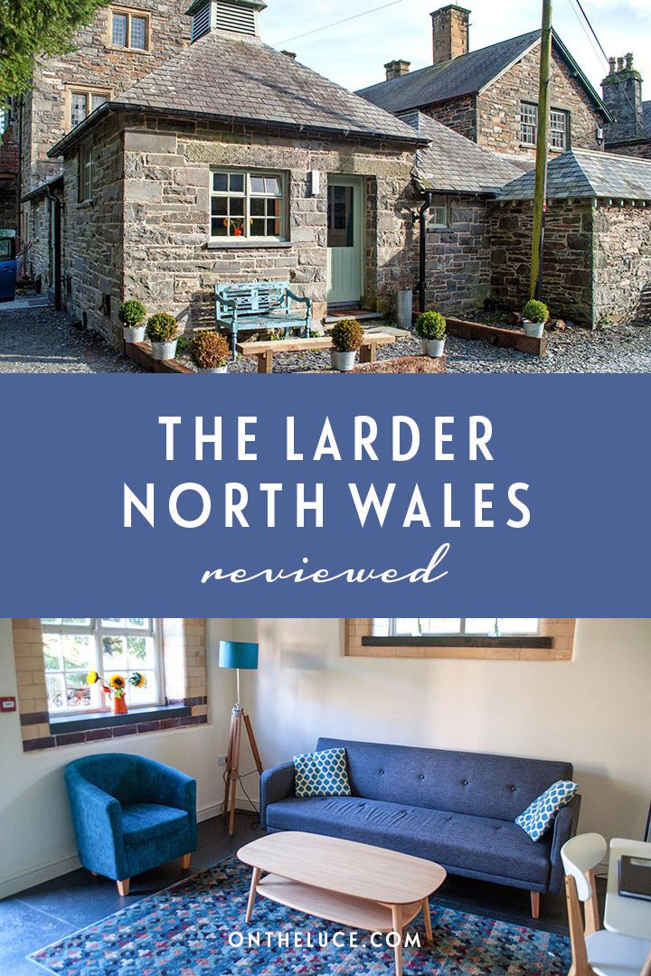 A cosy self-catering retreat for two in the North Wales countryside between Porthmadog and Criccieth, the Larder is part of the historic Wern Manor. #Wales #accommodation #cottage