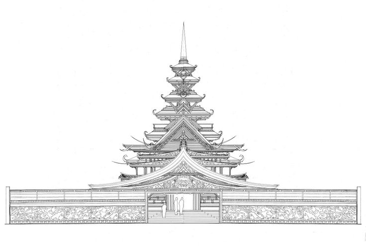 Main Temple for BM 2012