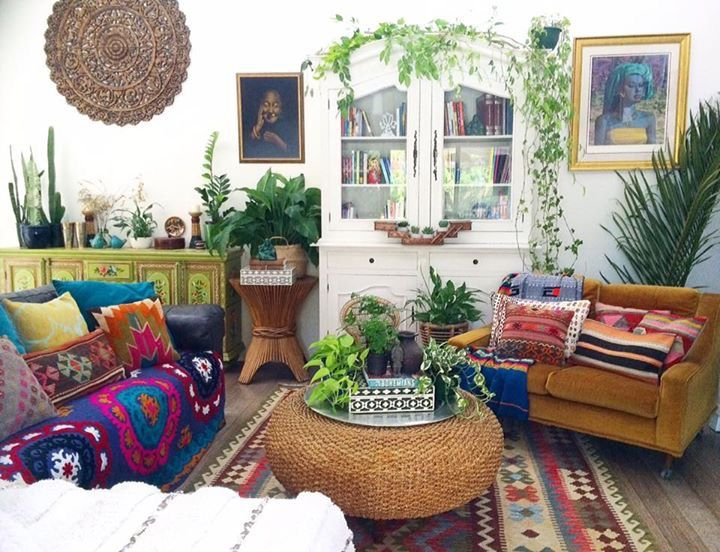 25 best ideas about Bohemian Living Rooms on Pinterest