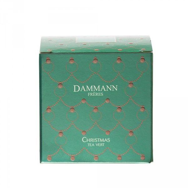 DAMMANN - Christmas Tea Vert, 25 sachets Cristal ®