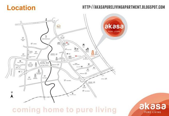 Map Akasa Pure Living BSD
