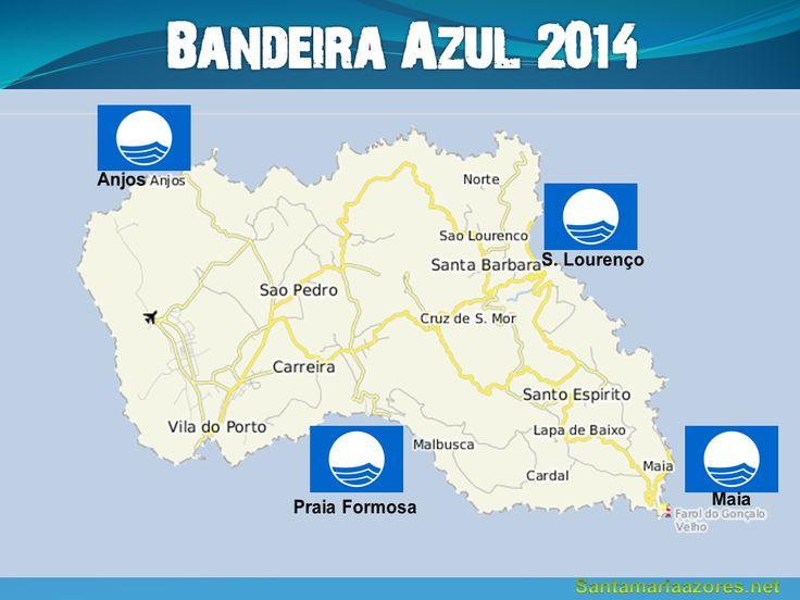 Bandeira Azul em todas as zonas balneares de Santa Maria